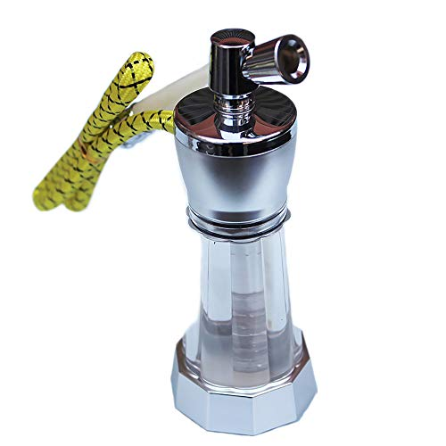 Metal Waterpijp, Afwasbaar Sigarettenhouder Filter, Double Filter Mannen Roken Set