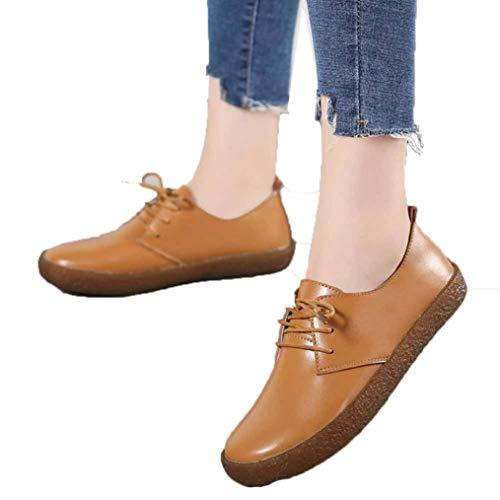 Vrouwen Mocassins Zacht Leer Casual Loafer Boot Ballet Flats Lichtgewicht Comfort Office Werk Jurk Wandelen Schoenen