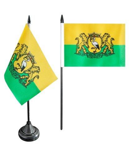 Flaggenfritze® Tischflagge Niederlande Stadt Den Haag - 10 x 15 cm