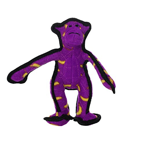 TUFFY Junior Zoo Animal Monkey, Durable Dog Toy, Small