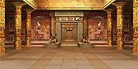 LFEEY 15x8フィート エジプト寺院 写真背景 旅行 写真ブース バックドロップ 壁紙 古代エジプト 神秘的なラムセ アヌビス 歴史的なヘリテージ フォトスタジオ小道具