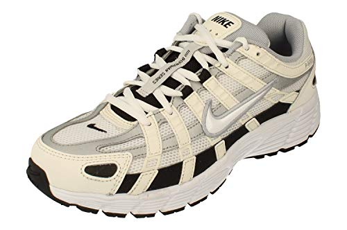Nike P-6000 Hombre Running Trainers CD6404 Sneakers Zapatos (UK 8 US 9 EU 42.5, Sail White Wolf Grey 101)