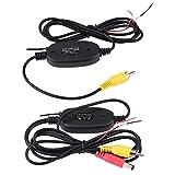 Transmisor de video RCA, transmisor inalámbrico de video de 2.4GHz RCA y kit receptor para el sistema de monitoreo de cámara de respaldo para estacionamiento de automóviles