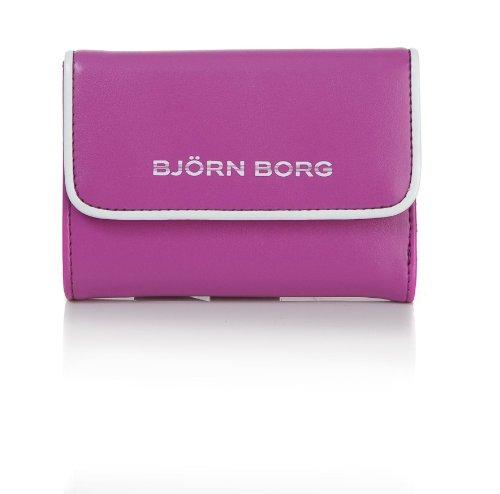 Björn Borg Erica – Porte-monnaie (15,5 x 9 cm), Erica, morado - lila, 15,5 cm
