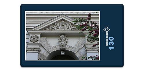 hansepuzzle 36936 Gebäude - Gründerzeit, 130 Teile in hochwertiger Kartonbox, Puzzle-Teile in...