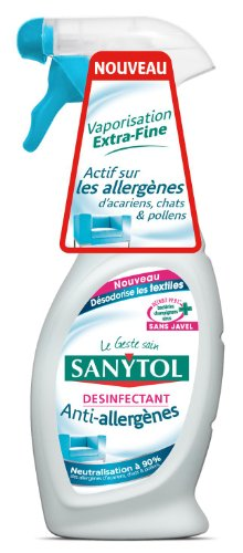 sanytol Aire Ambientador–Desinfectante Textiles relleno de plumón 2unidades)