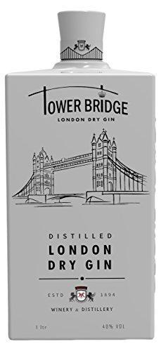 Ginebra Premium Tower Bridge London Dry GIN white 1000ml