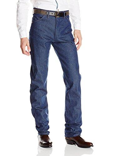Wrangler Men's Cowboy Cut Original Fit Jean, Rigid Indigo, 34W x 33L