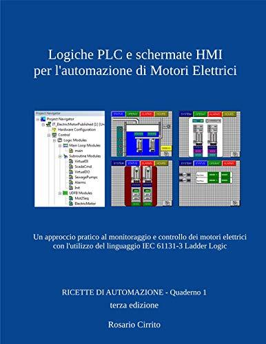 Logiche PLC e schermate HMI per l'automazione di Motori...