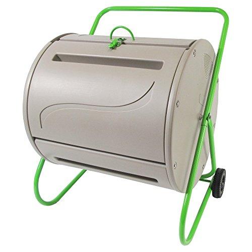 Redmon Green Culture Compost Tumbler, 37 Gallon, Gray