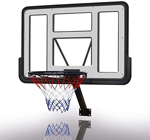 Basketbal stand Heavy Duty Hoepel en de Bal for Indoor/Outdoor, Mini Aan de muur bevestigde PVC Rebound boven de deur gebruiken, Adult/Jeugd In hoogte verstelbare basketbal stand