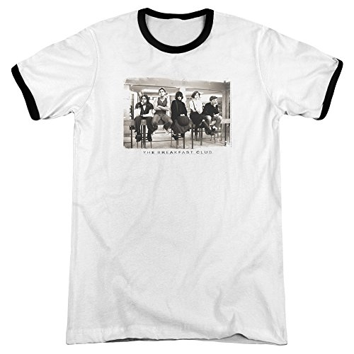 The Breakfast Club Unisex Ringer T-shirt, S to 3XL