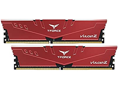 Team 8GB (2 x 4GB) T-Force Vulcan Z DDR4 PC4-24000 3000MHz Desktop Memory Model TLZRD48G3000HC16CDC01