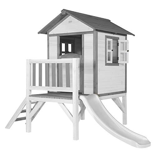 AXI Lodge XL Speelhuis Klassiek - FSC - Platform 57 cm - Witte glijbaan