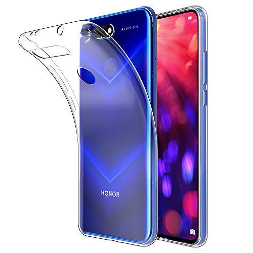 Beetop Huawei Honor View 20 Hülle Schutzhülle Superdünn Handyhülle Transparent Weiche Silikon TPU Rückschale Hülle Cover für Huawei Honor View 20 - Durchsichtig