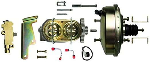 The Right Stuff Detailing G94020971 Booster/master cylinder/valve combo with lines and mounting brackets Disc/Drum