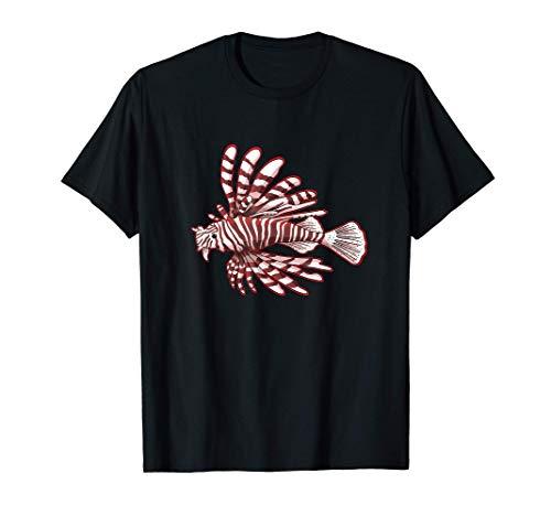 Rotfeuerfisch, Feuerfische Aquarium Pterois fisch, T-Shirt