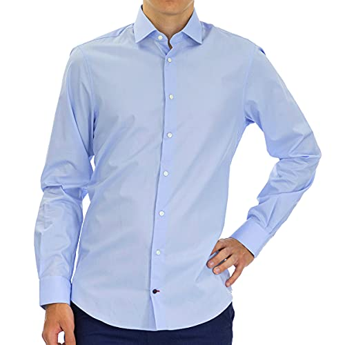 camicia uomo Tommy Hilfiger Slim Fit Stretch Ct Camicia Formale