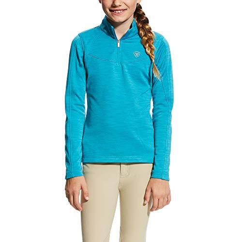 ARIAT Kid's Conquest 1/2 Zip Sweatshirt Blue Size 2XL