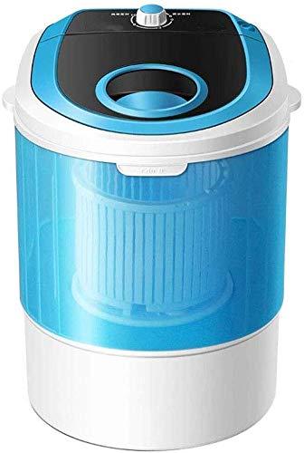 Lavadora Portatil, Portable 2-en-1 Lavadora Y Secador Rotatorio De Combinación, 4,5 Kg Capacidad Total, Compacto Camping Dormitorio Apartamento 3 Kg Capacidad Deshidratación, Blanco / Negro