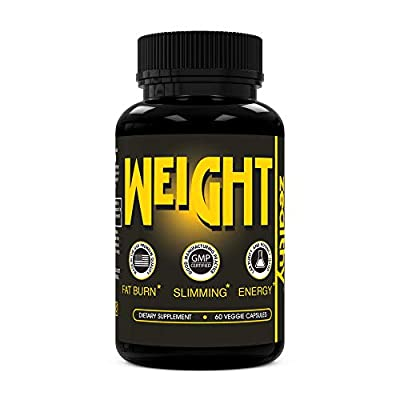 Zealthy Weight - Weight Loss Supplement. Fast Fat Burner Pills for Weight Loss, Appetite Suppressant & Boost Metabolism. Best Diet pill Supplements with Thermogenic & Green Tea for Men & Women (60 Ct)