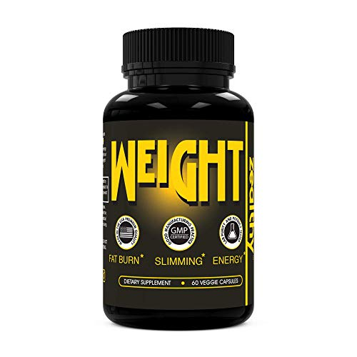 Zealthy Weight - Weight Loss Supplement. Fast Fat Burner Pills for Weight Loss, Appetite Suppressant + Boost Metabolism. Best Diet pill Supplements with Thermogenic + Green Tea for Men + Women (60 Ct)