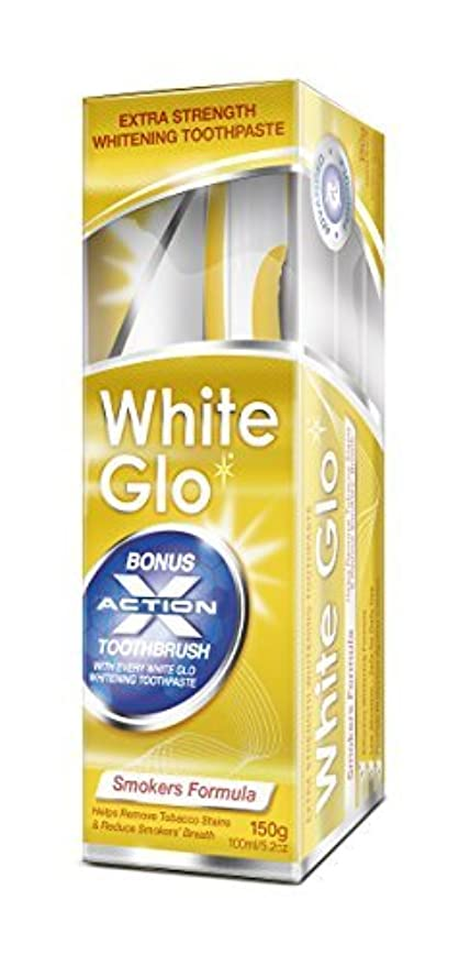 悪党活性化する法律White Glo Smokers' Formula Whitening Toothpaste by White Glo [並行輸入品]