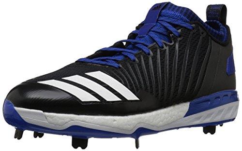 adidas Herren Freak X Carbon Mid Baseballschuh Black/White/Collegiate Royal, Schwarz (Schwarz/Weiß/Collegiate Royal), 47 EU