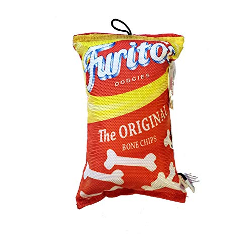 SPOT Fun Food Furitos Chips 8' Dog Toy