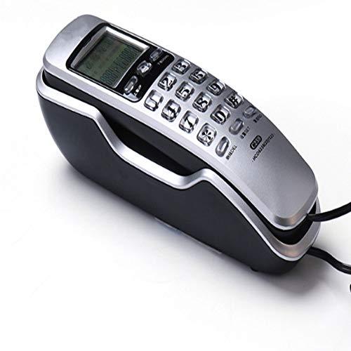 Vaste net, beller, Id telefoon, wand-nachtkastje, kleine hangende machine, geen batterij, zilver