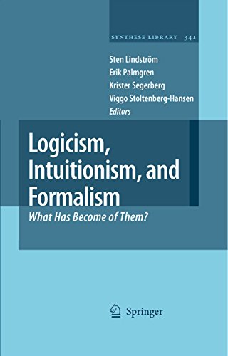 Logicism, Intuitionism, and Formalism: What Has Become of Them? (Synthese Library Book 341)