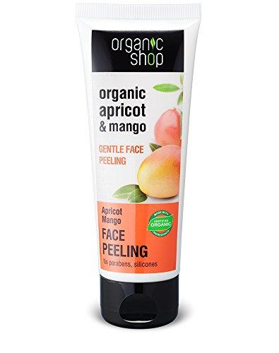 Organic Shop Peeling Viso Purificante Apricot & Mango - 75 ml