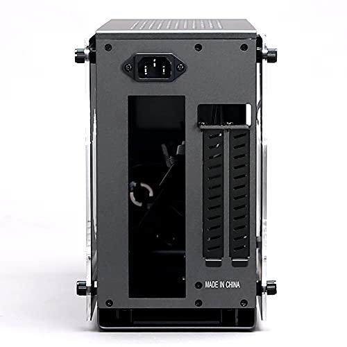 ZALMAN M2 Mini グレイ ミニタワーPCケース Mini-ITX対応 容量約11L M2 Mini(Gray) CS8137