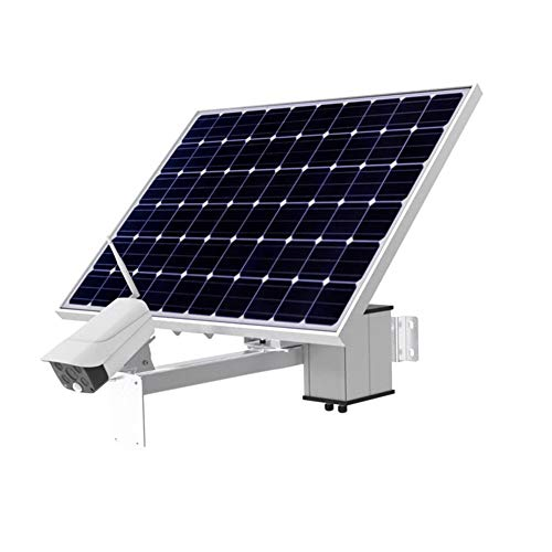 DBM-TOR Cámara de Seguridad inalámbrica al Aire Libre, 4G Solar de vigilancia IP Principal Cámaras, 1080P, detección de Movimiento Humano, visión Nocturna, Audio de 2 vías, IP66Waterproof