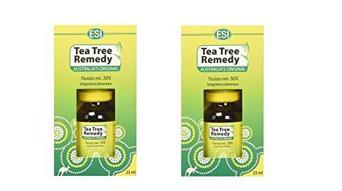 2 x Esi Tea Tree Remedy Oil Integratore Alimentare - 25 ml