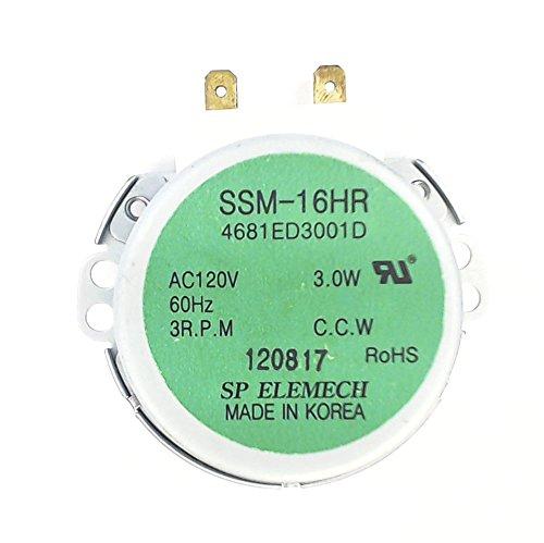 LG Electronics 4681ED3001D Dishwasher Diverter Motor for Spray Arms
