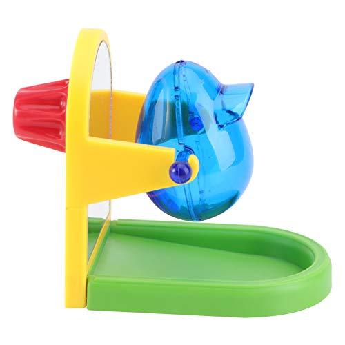 ledmomo バードフィーダー 給餌器 鳥 おもちゃ インコ おもちゃ 餌入れ 鳥のおもちゃ エサ入れ ストレス解消 知育玩具 訓練玩具(ランダムカラー)
