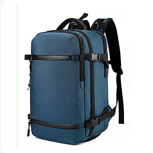 RongDuosi Oxford Doek Outdoor Sport Multi-functie Usb Man Grote Capaciteit Rugzak Blauw Outdoor rugzak Zwembed