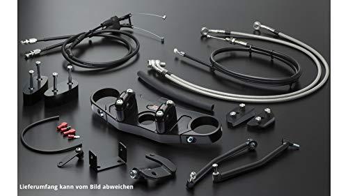 Motorize ABM Superbike Kit 620 DS, 02-19, Silver, Transparent/Silver