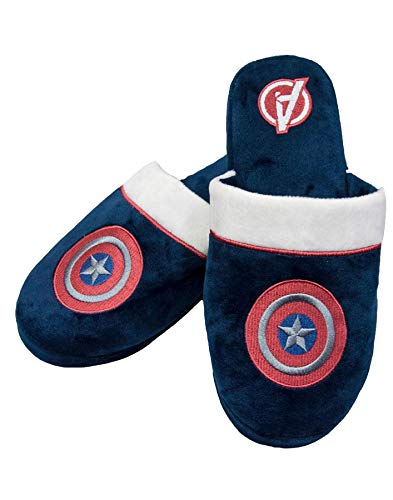 Marvel Capitán América Logo Vengadores de los Hombres de Guerra Zapatillas