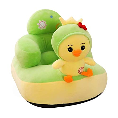 HUGUJ Sofá respaldo silla for niños, juguetes de bebé Aprendizaje portátil, pequeño sofá asien