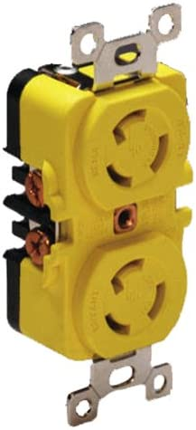 Marinco 4700CR Marine Electrical Locking 125 Dealing full price reduction Receptacle 15-Amp Free shipping New