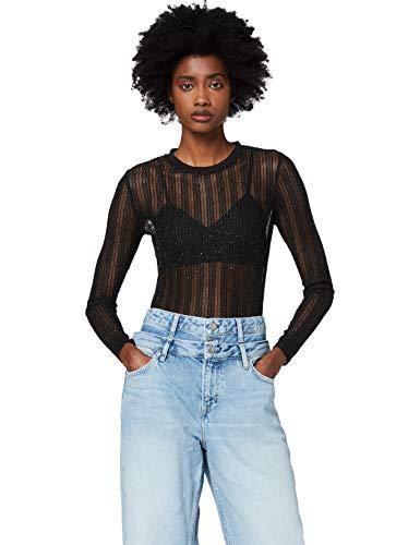 Pepe Jeans Katie Blusa, Negro (Black 999), X-Large para Mujer