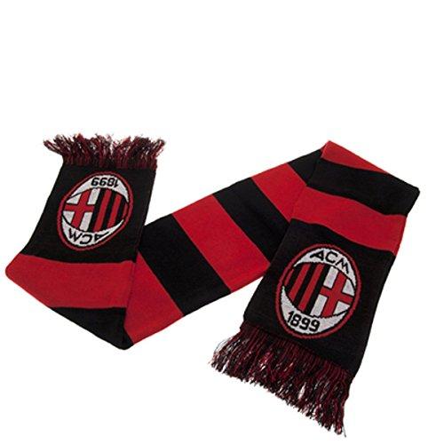 AC Milan Bar Sjaal Zwart/Rood