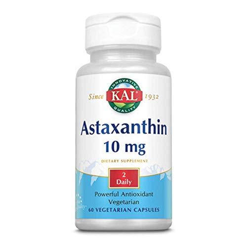 ASTAXANTHIN 10 MG 60 CAPSULAS