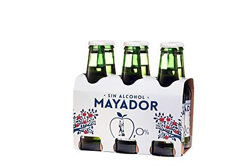 Sidra espumosa Mayador sin alcohol PACK 24 botellas x 25cl
