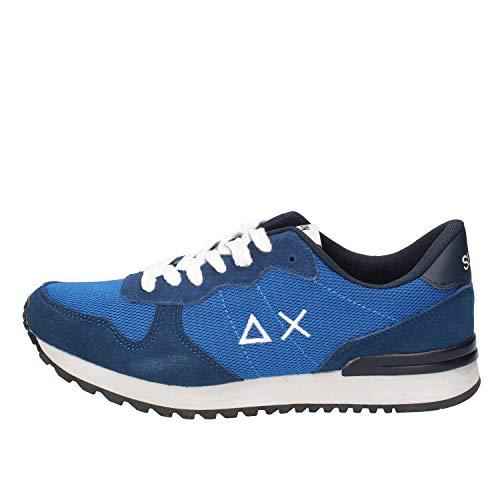 SUN 68 Zapatillas de Deporte Hombre Textil Azul 41 EU