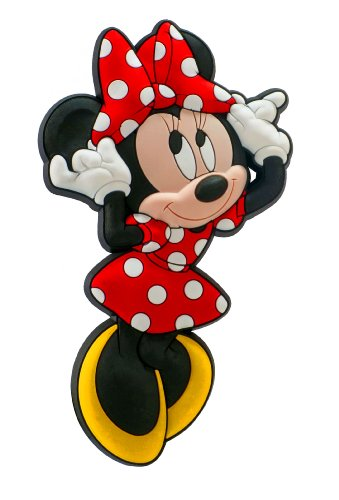 Disney Minnie Soft Touch Magnet,Multi-colored,4'