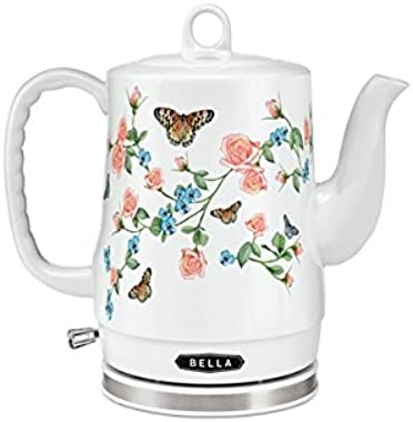 Sensio Electric 1.2L Ceramic Butterfly Kettle Detachable Base