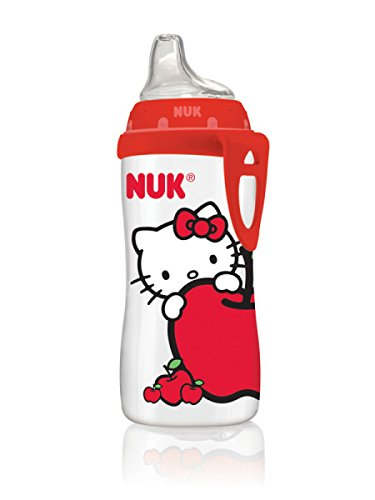 NUK Hello Kitty Silicone Spout Active Cup, 10 Ounce by NUK